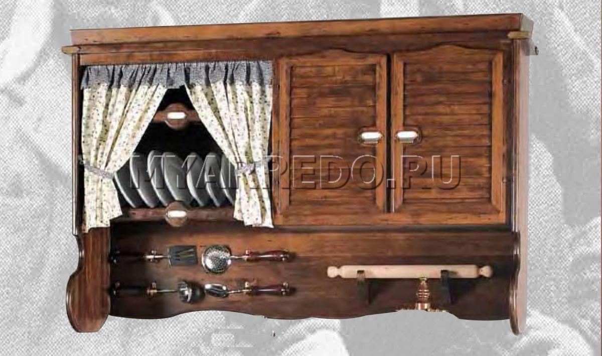 Навесной шкаф из дерева своими руками 92