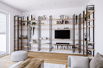 Стеллаж Damiano Latini COLLECTION 2018 - 2019 shell